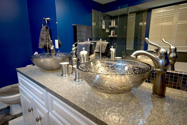 Granite Transformations St Louis contemporary-bathroom