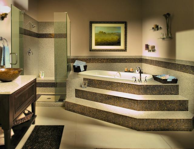 Granite Transformations St Louis Traditional Bathroom