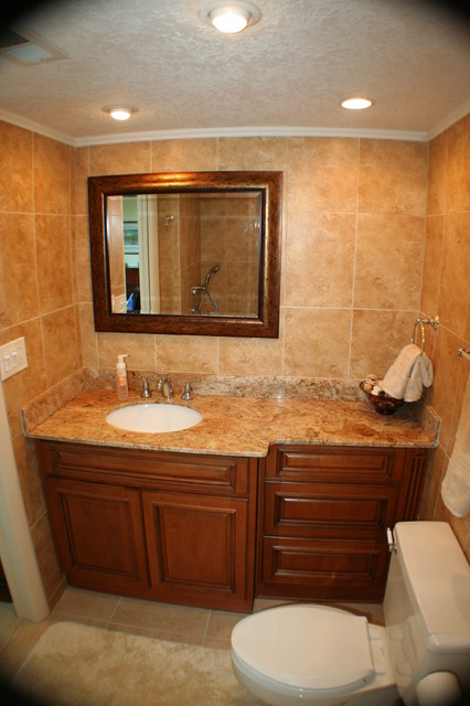 Granites and cabinets baths exotique salle de bain for Cabinet salle bain