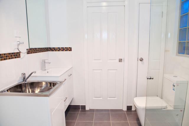 Granny Flat, Hebersham contemporary-bathroom