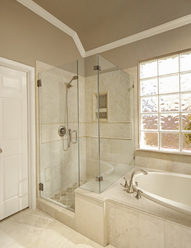 Grapevine bathroom remodel - Traditional - Bathroom ...