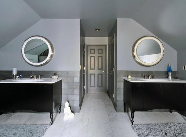 Graphite Bathroom contemporary-bathroom