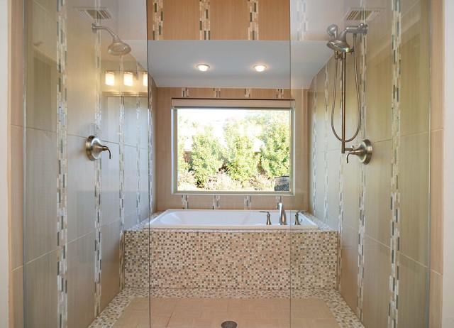 Grassmere remodel moderno stanza da bagno dallas - Stanze da bagno moderne ...
