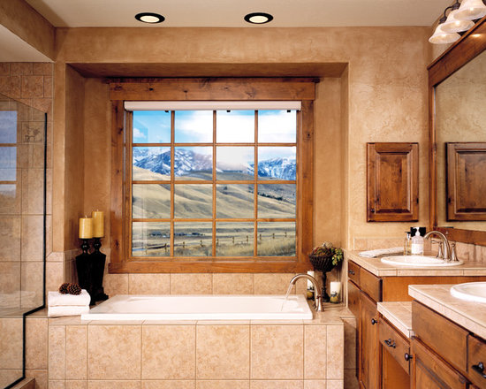 Earth tones bathroom design ideas pictures remodel for Earth tone bathroom ideas