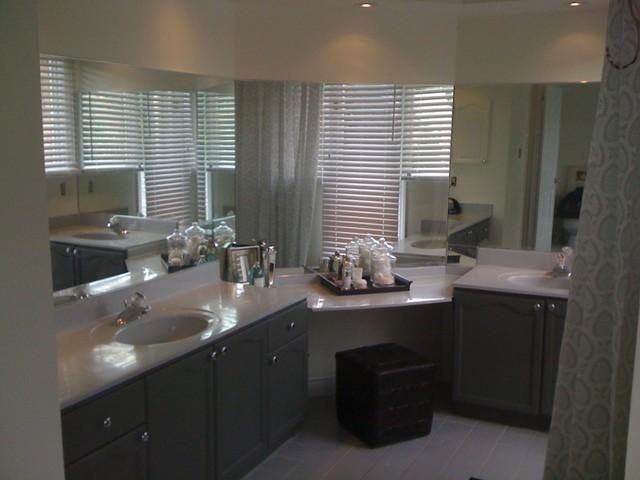 gray bathroom contemporary-bathroom
