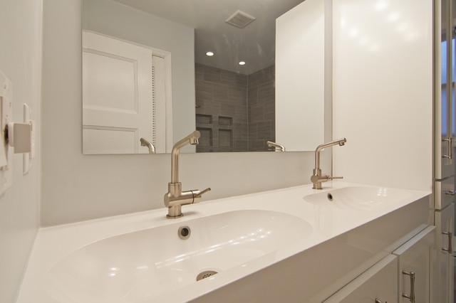 gray tile horizontal contemporary-bathroom