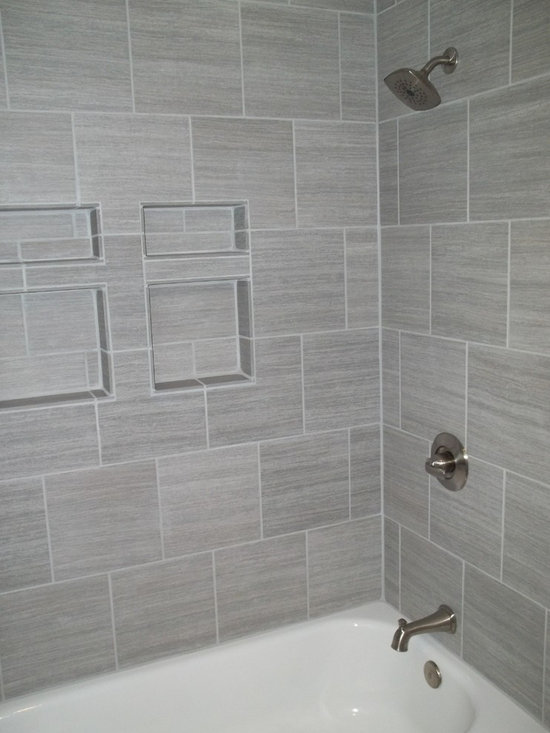 Creative  Design Garrett Design Tile Idea Subway Tile Bathroom Idea Grey