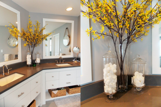 Bathroom Yellow And Gray yellow and grey bathroom decorating ideas fall home decor and