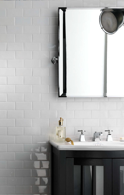 Grazia Melange Wall Tile - Soft Palette and Gentle Shading - Italian Wall Tile bathroom