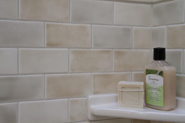 Grazia Melange Wall Tile - Soft Palette and Gentle Shading - Italian Wall Tile - Bathroom - san ...