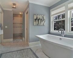 Great Neighborhood Homes transitional-bathroom