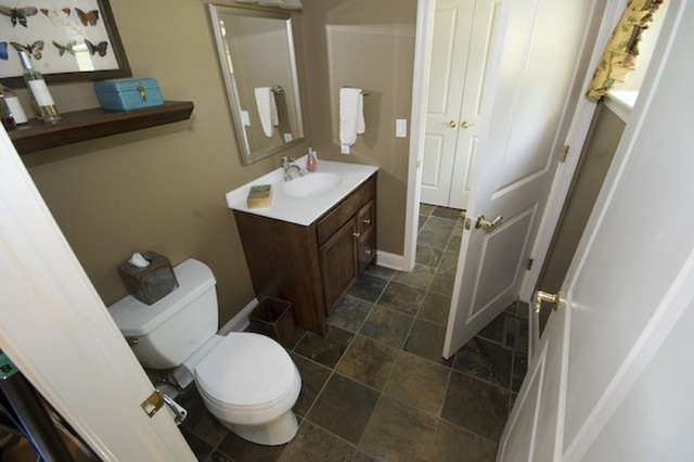 Great Room/Office Edition traditional-bathroom