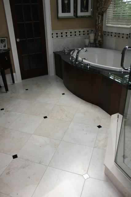Great Western Flooring - Tile & Stone Floors bathroom