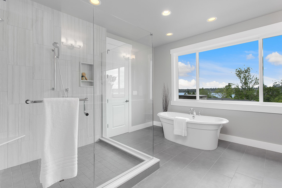 Greater Seattle Area | The Mozart Master Suite Bathroom ...