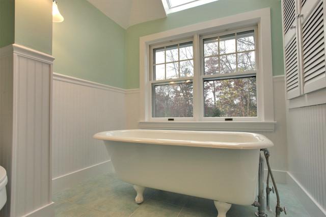 Green Antique Bath traditional-bathroom