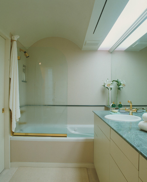 Green Bathroom contemporary-bathroom