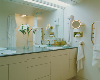 Green Bathroom contemporary bathroom