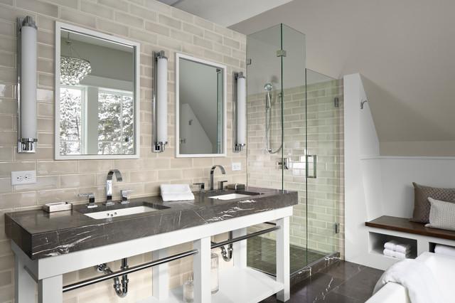 Green Dream Home contemporary-bathroom