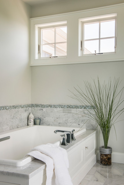 Green Hill Project - Beach Style - Bathroom - Providence ...