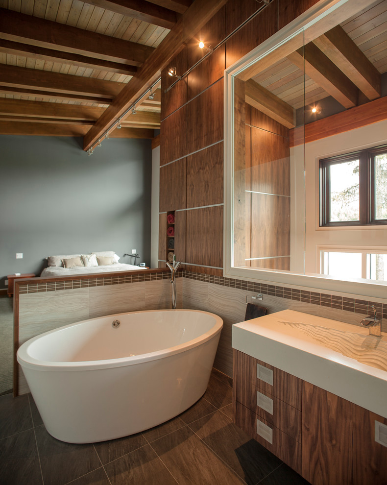Green Lake House - Contemporary - Bathroom - Vancouver ...