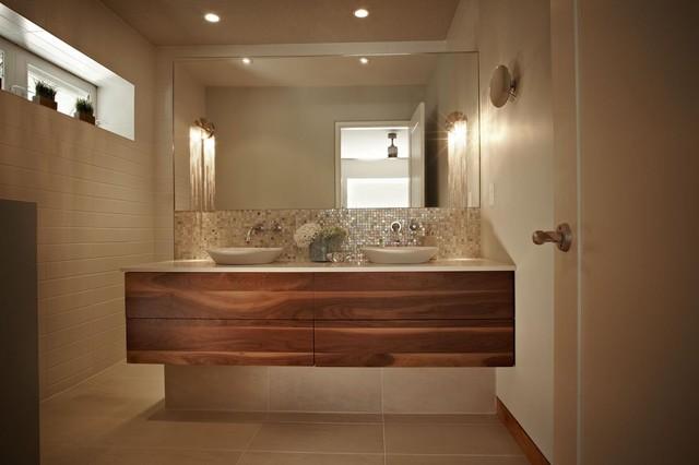 Green warm mod contemporary bathroom toronto by for Warm bathroom designs
