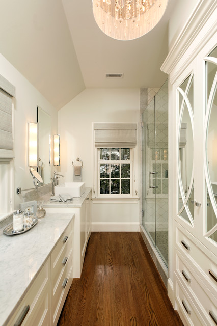 GREEN with Envy: LEED Certified Whole House Renovation traditional bathroom