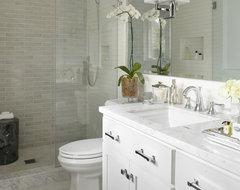 Greenbrae, CA transitional-bathroom