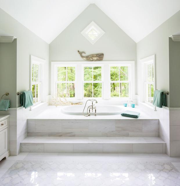 Coastal Style Bathroom: Greenwich Bathroom