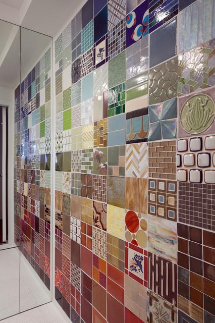 Greenwich Loft Studio modern-bathroom
