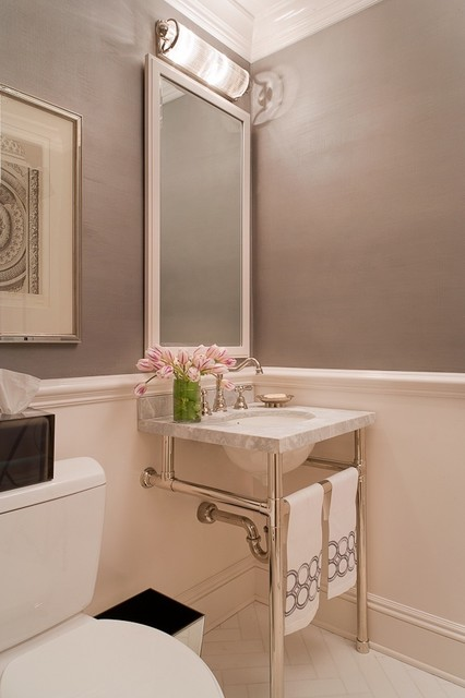 Greenwich Penthouse traditional bathroom
