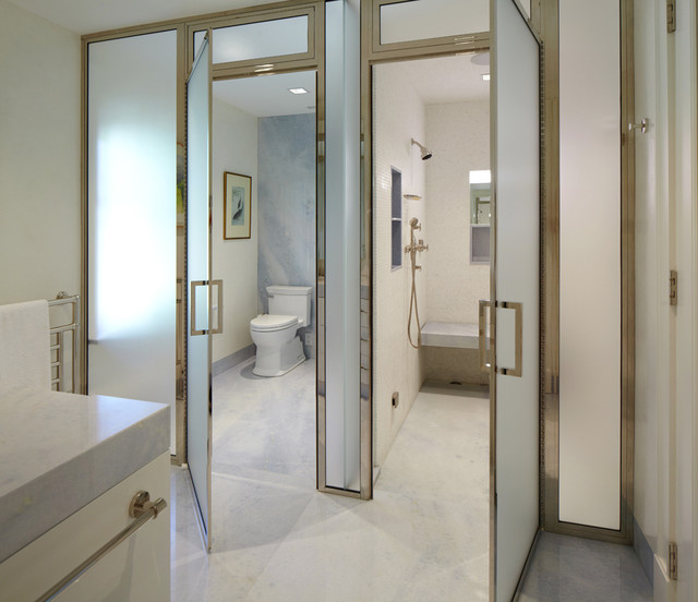 Greenwich Residence Transitional Bathroom New York By Leap