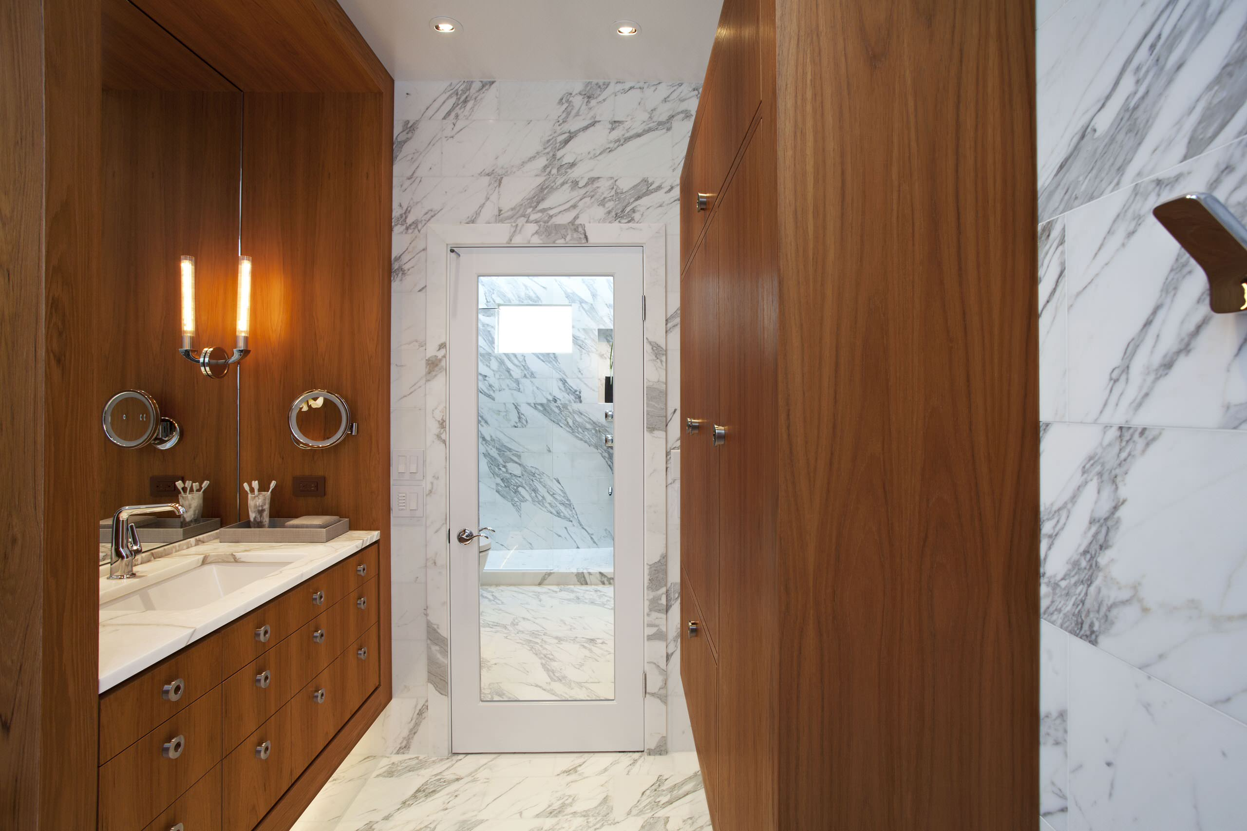 Marble And Wood Houzz