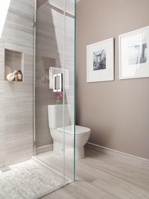 Greenwich street contemporary bathroom san francisco for Bathroom design san francisco