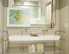 Greenwich Village, NY contemporary-bathroom