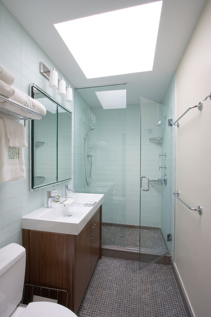 Greenwood Heights Townhouse contemporary bathroom Greenwood Heights  Townhouse Contemporary Bathroom New York. 4 X 8