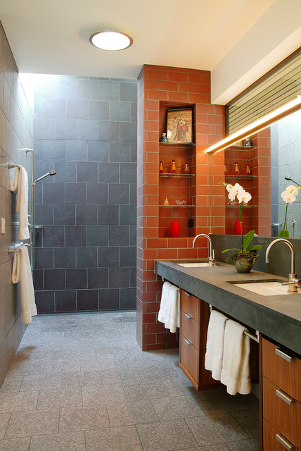 Greenwood residence contemporary bathroom san francisco by bar architects for Bathroom remodel greenwood in