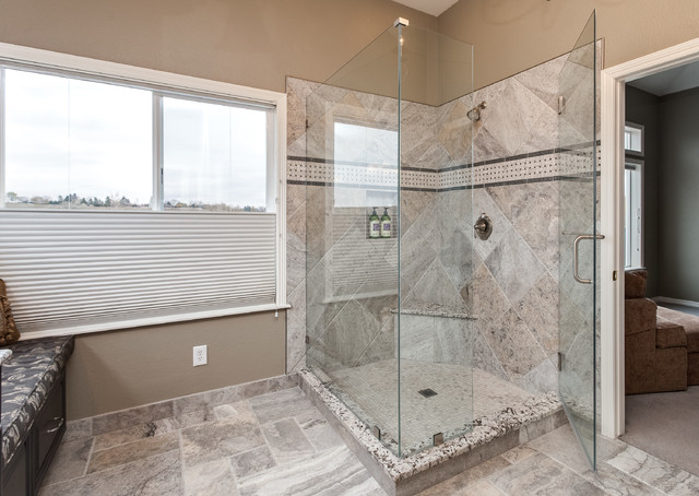 Greenwood village bath room remodel by jm kitchen bath traditional bathroom denver by for Bathroom remodel greenwood in