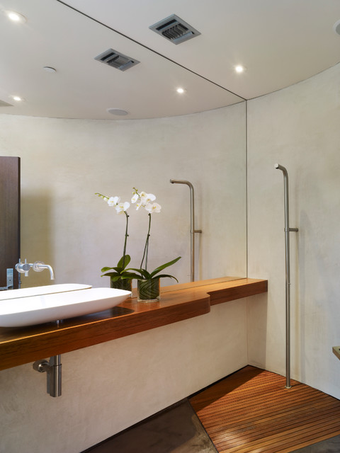 Griffin Enright Architects Point Dume Residence Modern Bathroom Los Angeles By Griffin