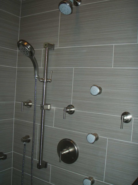 Grohe and Kohler shower components - Contemporary - Bathroom - Hawaii ...