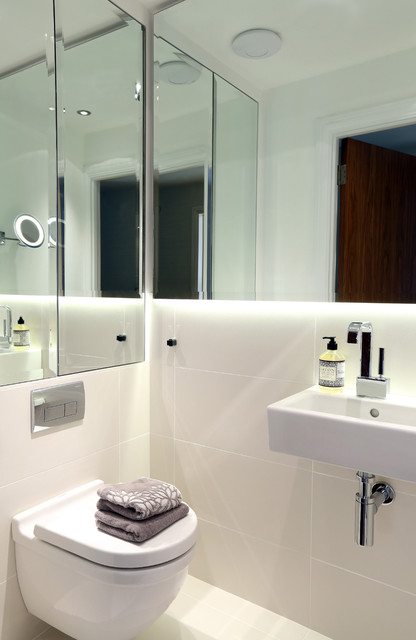 Ground Floor WC - Buckinghamshire Residence - Contemporary ...