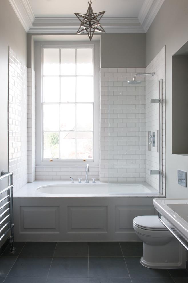 Bathroom - bathroom idea in London