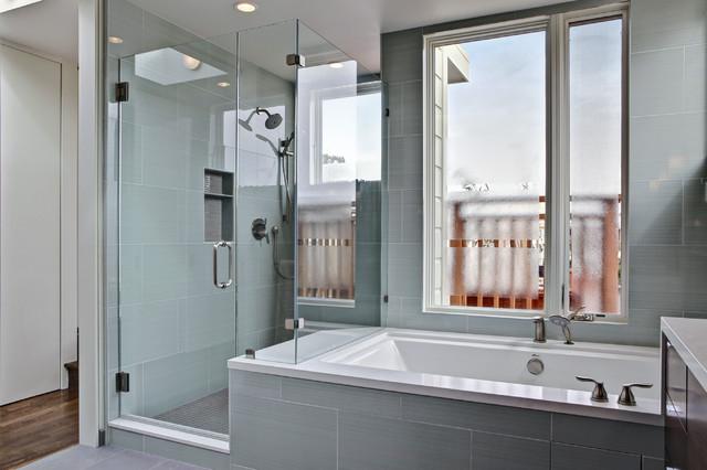 Grove Street Master Suite contemporary-bathroom