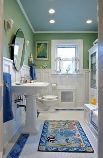 Grow Kid 39 S Bath Craftsman Bathroom New York By Carisa Mahnken Design Guild