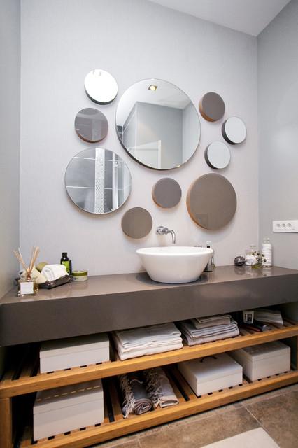 Güneṣli Park Gardenya eclectic-bathroom