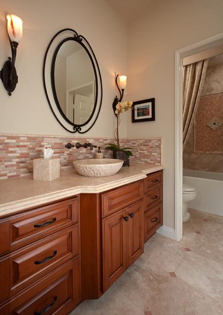 Tommy Bahama - Traditional - Bathroom - orange county - by Design Focus