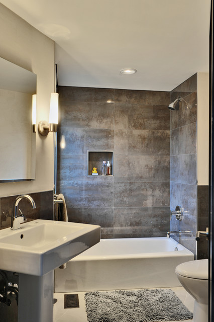 Guest Bath contemporary bathroom