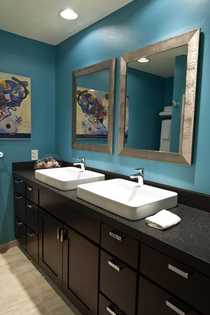 Guest Bath Contemporary Bathroom San Diego