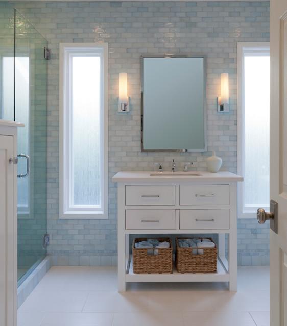 Guest Bath in Sherman Oaks, CA - Traditional - Bathroom - Los ...