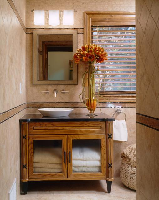 Sea Bright-Guest Bath-Lower Level traditional-bathroom