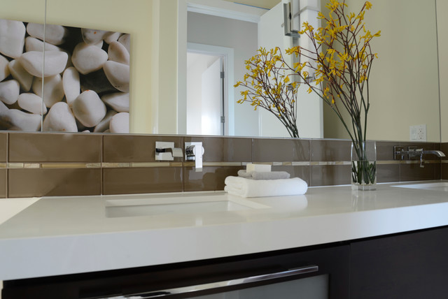 Burlingame Residence modern bathroom